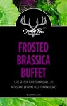 Double Tine Frosted Brassica Buffet